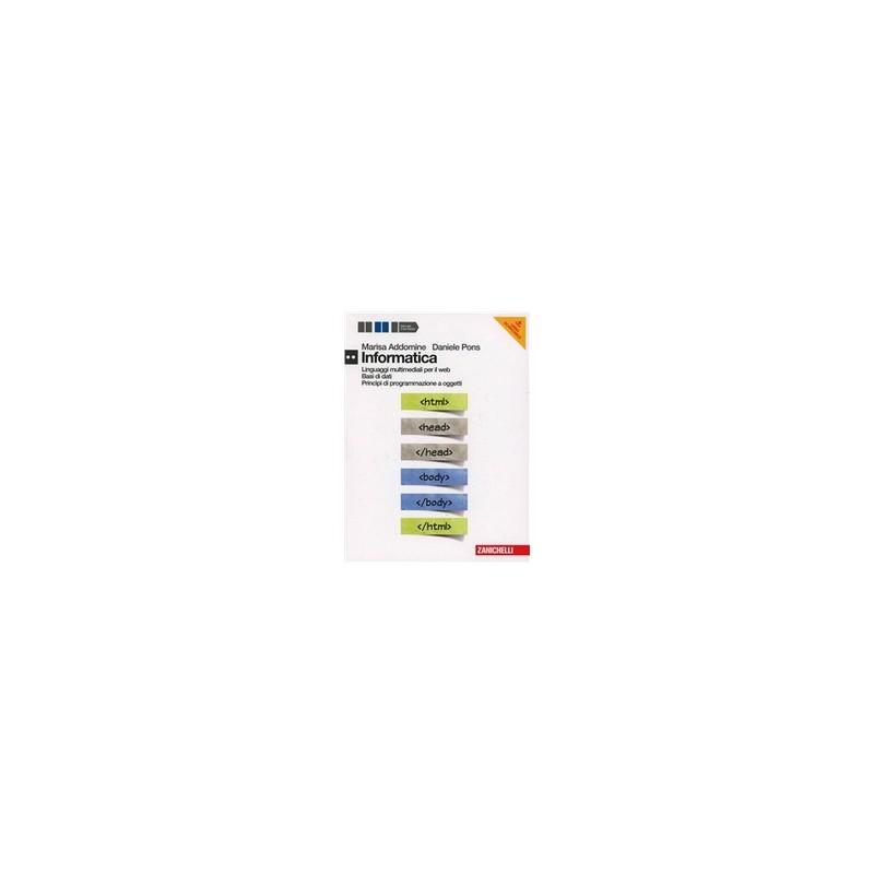 INFORMATICA-MULTIMEDIALE-DVD-LIBRO-MISTO-MULTIMEDIALE-LINGUAGGI-BASI-DATI---PROGRAMMAZIONE