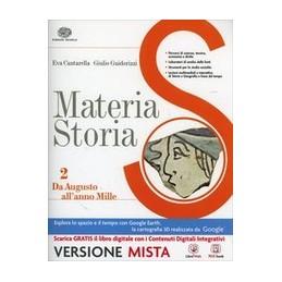 MATERIA-STORIA-VOLUME--BOOK-CDI