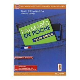 PALMARES-POCHE-COMPACTE-EDIZIONE-MYLAB-LIBRO-CARTACEO-FASCICOLO-ITE-MYLAB-DIDASTORE-VOL