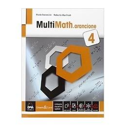 MULTIMATH-ARANCIONE-VOL4-CON-BOOK