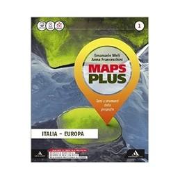 MAPS-PLUS-VOLUME-ITALIA-EUROPA-ATLANTE--QUADERNO-DELLE-COMPETENZE--REGIONI-DITALIA