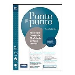 PUNTO-PER-PUNTO-VOLUME-UNICO-LIBRO-MISTO-CON-OPENBOOK-MORFOLOGIA-COMUNICAZIONE-QUADERNO--LE