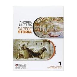 SAPERE-STORIA-VOL-ORIENTE-GRECIA-ROMA-REPUBBLICANA-CON-ATLANTE-STORIC