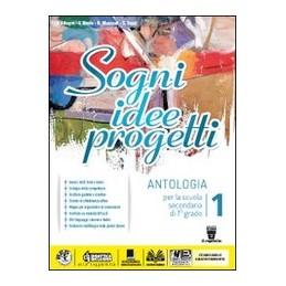 SOGNI-IDEE-PROGETTI--MITO-EPICA-LETTERATURA-ANTOLOGIA-PER-SCUOLA-SECONDARIA-I-GRADO-Vol