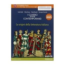 CLASSICI-NOSTRI-CONTEMPORANEI-ORIGINI-LETT-ITALIANA-ARANCIO--Vol