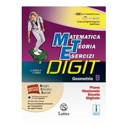 MATEMATICA-TEORIA-ESERCIZI-DIGIT-GEOMETRIA-CON-DVD-VOL