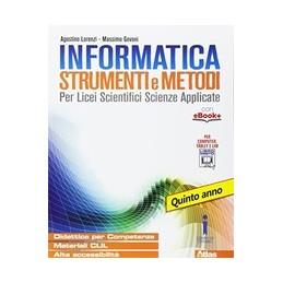 INFORMATICA-STRUMENTI-METODI-VOLUME-QUINTO-ANNO