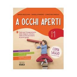 OCCHI-APERTI-VOLUME-QUADERNO--CD-MATERIALI-PER-LIM-VOLUME-Vol