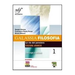 GALASSIA-FILOSOFIA-ARANCIO-CONFEZIONE-VOLUME--CLIL-Vol