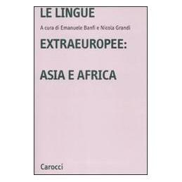 LINGUE-EXTRAEUROPEE-ASIA-AFRICA