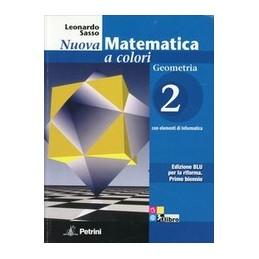 NUOVA-MATEMATICA-COLORI-GEOMETRIA-EDIZIONE-BLU--CD-ROM-VOL