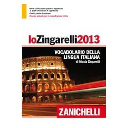 ZINGARELLI-2013-COFANETTO-VOLUME--LICENZA-ANNUALE-ONLINE-VOCABOLARIO-LINGUA-ITALIANA-Vol