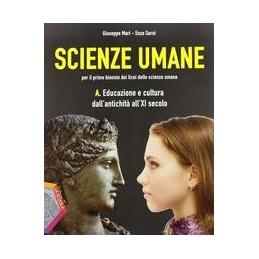SCIENZE-UMANE-EDUCAZIONE-CULTURA-DALLANTICHITA-ALLXI-SECOLO-PSICOLOGIA-VOL