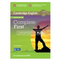 COMPLETE-FIRST--2ND-EDITION-PRESENTATION-PLUS-PER-LAVAGNA-INTERATTIVA