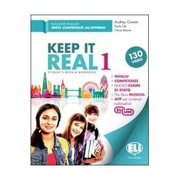 KEEP-REAL-VOL1-STUDENTS-BOOK-WORKBOOK-CON-AUDIOEXTRA-BOOKMINI-DICTIONARYGRAMMATICA-C