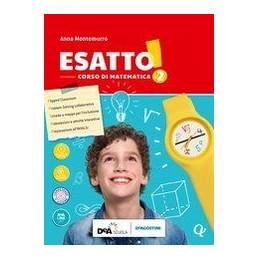 ESATTO-VOLUME-QUADERNO-OPERATIVO--PRONTUARIO--EASY-EBOOK-DVD--EBOOK-VOL
