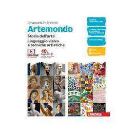 ARTEMONDO-VOLUME-UNICO-STORIA-DELLARTE-LINGUAGGIO-VISIVO-TECNICHE-ARTISTICHE-CON-ALBUM-LAQUO