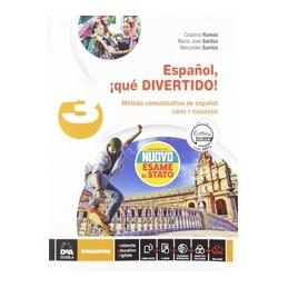 ESPANOL-QUE-DIVERTIDO-VOLUME-CON-ESAME-STATO-ESPAN771OL-NUEVO-EBOOK-LIBRO-DEL-ALUMNO