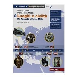 LUOGHI-CIVILTA--IDEE-PER-IMPARARE-VOLUME-DA-AUGUSTO-ALLANNO-MILLE-Vol