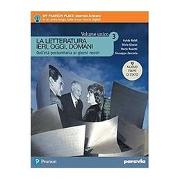LETTERATURA-IERI-OGGI-DOMANI-EDIZIONE-VOLUME-UNICO-NUOVO-ESAME--VOL-3