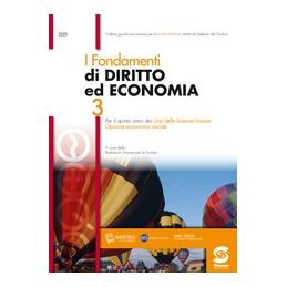 FONDAMENTI-DIRITTO-ECONOMIA-EBOOK-PER-QUINTO-ANNO-LICEI-SCIENZE-UMANE-S329DG-Vol