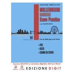 millennium-concise-vol-unico-con-exam-practice-con-espansione-online-con-dvd-per-le-scuole-sup
