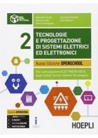 TECNOLOGIE E PROGETTAZIONE DI SISTEMI ELETTRICI ED ELETTRONICI VOL.2 N. E. PER L`ARTICOLAZIONE EL