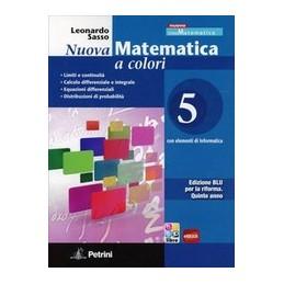NUOVA MATEMATICA A COLORI  VOL.5 ED.BLU