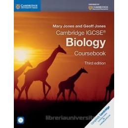 CAMBRIDGE IGCSE BIOLOGY 3RD EDITION COURSEBOOK WITH CD-ROM Vol. U