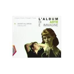 ALBUM-ARTE-IMMAGINE-L-B-DAVANTI-ALLOPERA-STORIA-DELLARTE-Vol