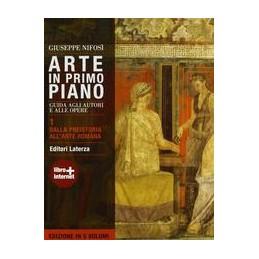 ARTE-PRIMO-PIANO--DALLA-PREISTORIA-ALLARTE-ROMANA-EDIZIONE-CINQUE-VOL-GUIDA-AGLI-AUTORI-AL