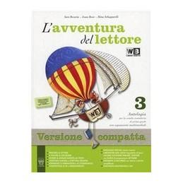 AVVENTURA-DEL-LETTORE-VOL3-COMPATTA--INVALSI---LIBRO-MISTO