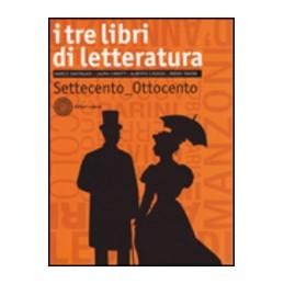 TRE-LIBRI-LETTERATURA-VOL-SETTECENTO-OTTOCENTO--Vol