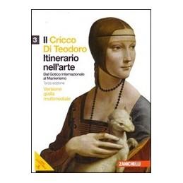 CRICCO-TEODORO-VOL3-EDGIALLA-LMM-LIBRO-MISTO-MULTIMED-ITINERARIO-NELLARTE