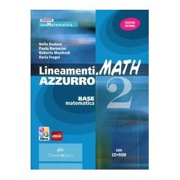 LINEAMENTIMATH-AZZURRO-VOLUME--ROM-VOL