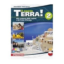 NUOVO-TERRA-SCOPERTA-REGIONI--PAESI-DEUROPAATLANTE-2LD-2CARTE-MUTE-Vol