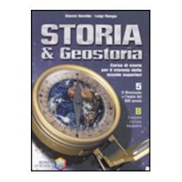 STORIA-GEOSTORIA--VOL5-TOMO--IL-NOVECENTO-LINIZIO-DEL-XXI-SECOLO-VOL