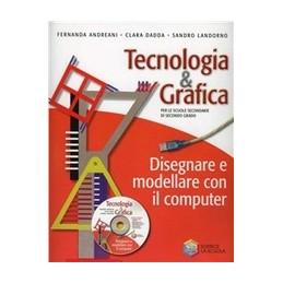 TECNOLOGIA-GRAFICA-DISEGNARE-MODELLARE-CON-COMPUTER-CD-ROM-Vol