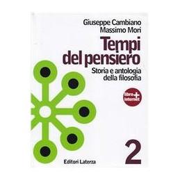 TEMPI-DEL-PENSIERO-VOLUME--ETA-MODERNA-STORIA-ANTOLOGIA-DELLA-FILOSOFIA-Vol