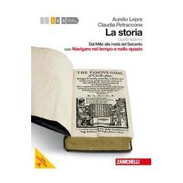STORIA-4ED--VOL-MULTIMEDIALE-CON-DVD-ROM-NAVIGARE-LMM-DAL-MILLE-ALLA-MET-DEL-SEICENTO