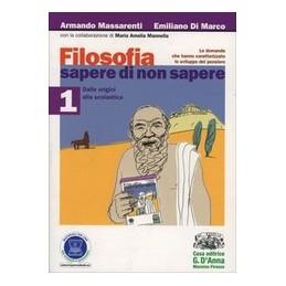 FILOSOFIA-SAPERE-NON-SAPERE-DALLE-ORIGINI-ALLA-SCOLASTICA-Vol